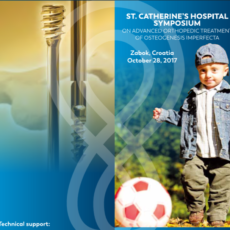 St. Catherine's Hospital Symposium on Advanced Orthopaedic Treatment Of Osteogenesis Imperfecta, October 28, 2017